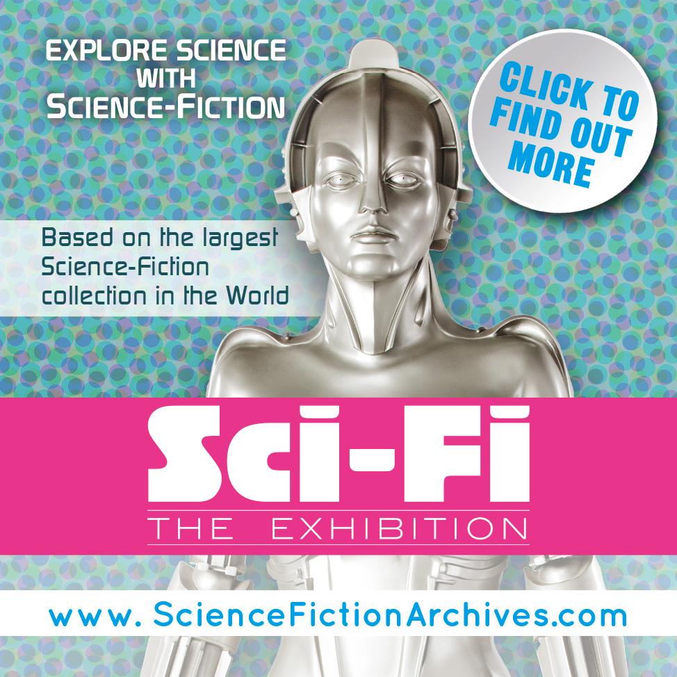 Sci fi exhibition Callisto - Advertisement Spokes#8