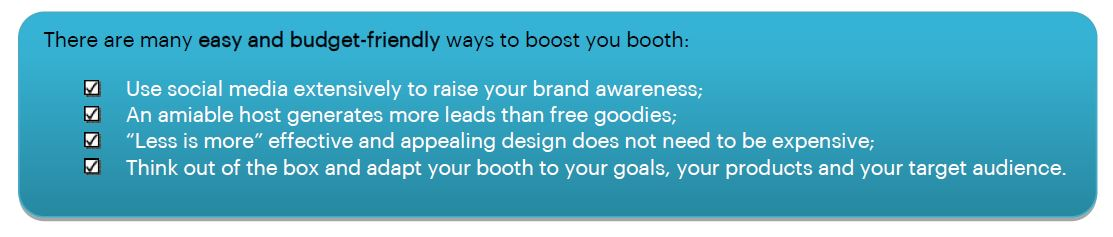 Tips to boost your booth