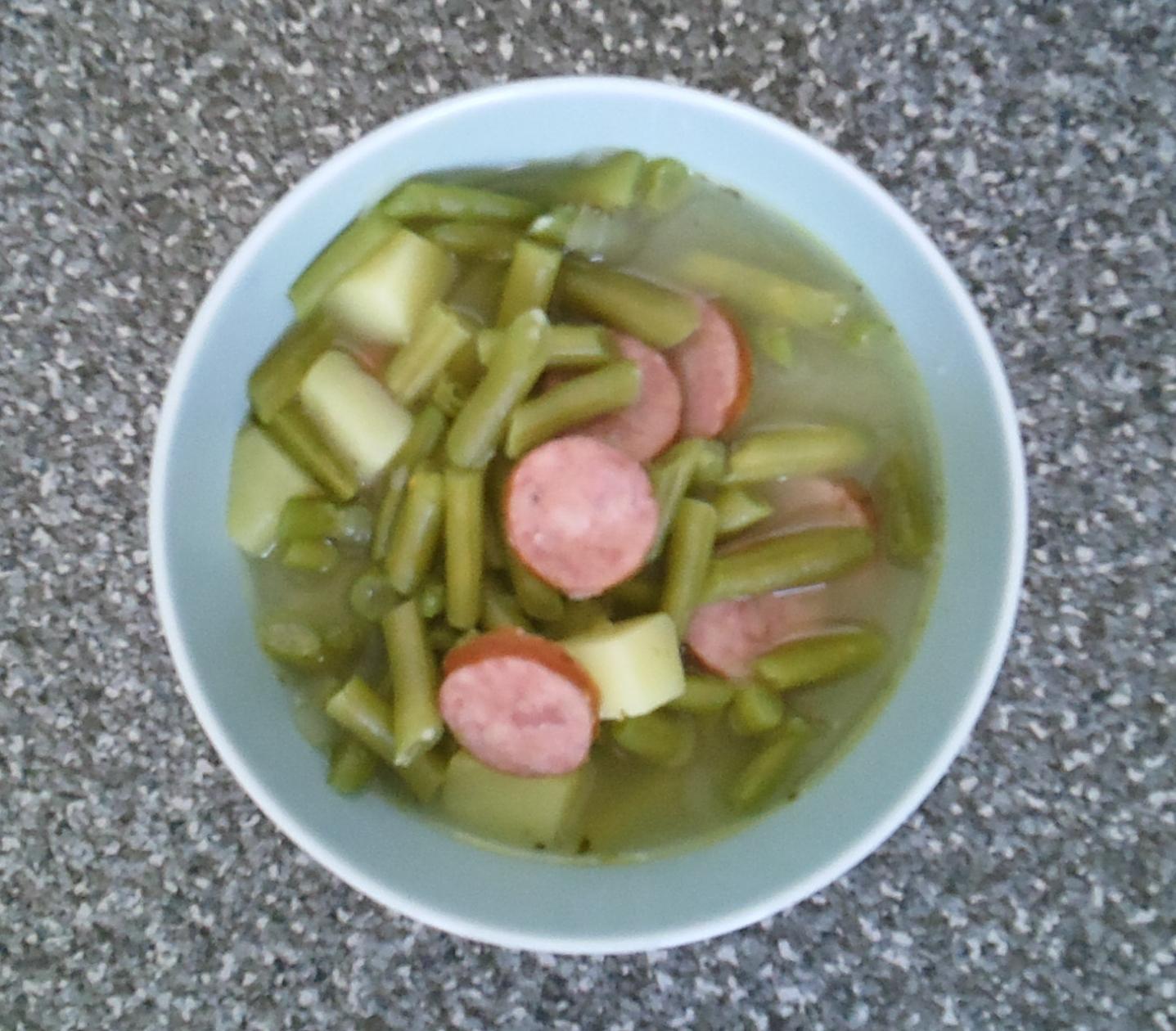 green bean soup green bean luxembourg soup bouneschlupp green bean ...
