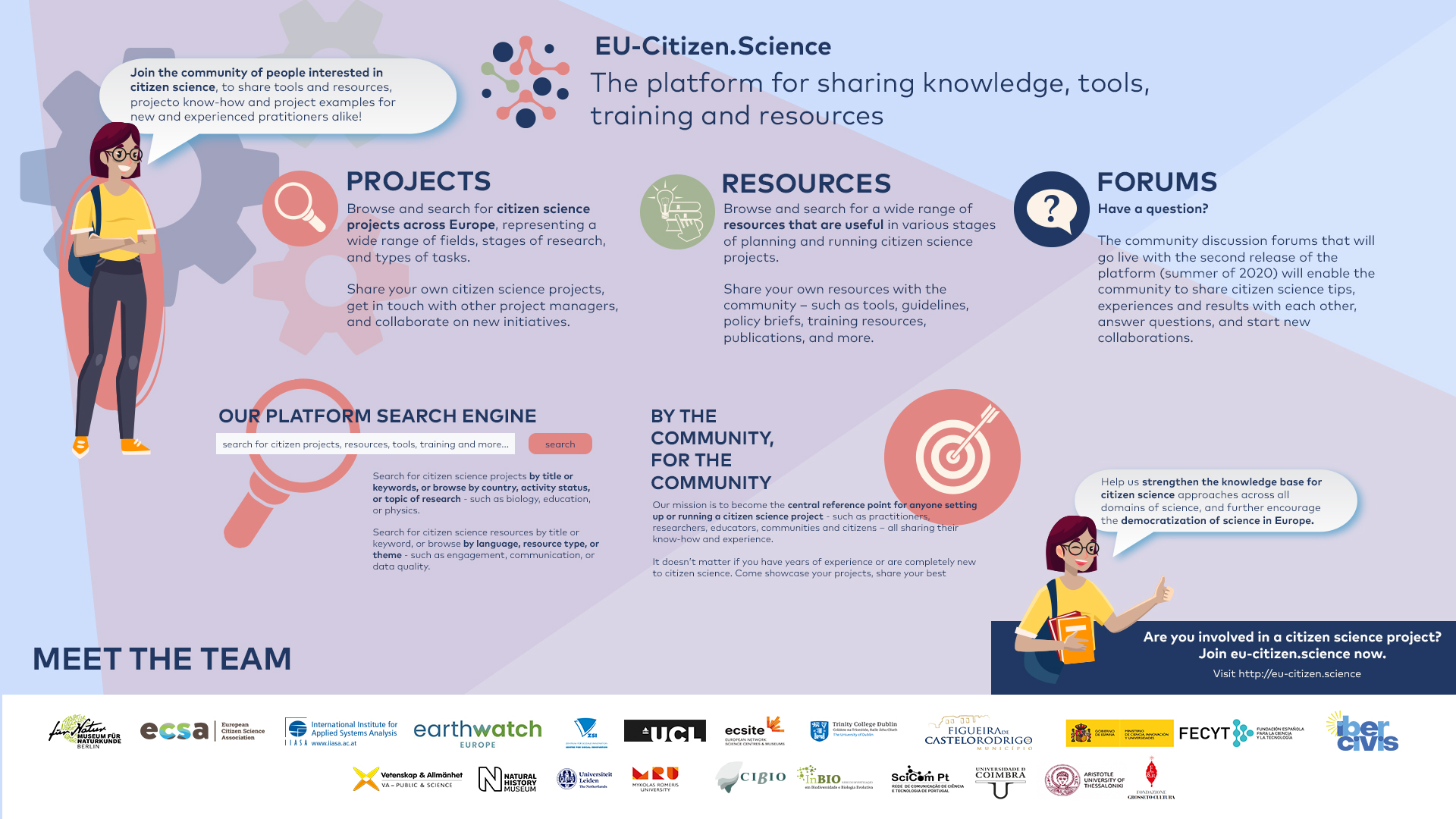 EU-Citizen.Science, The platform for sharing knowledge, tools training and resources