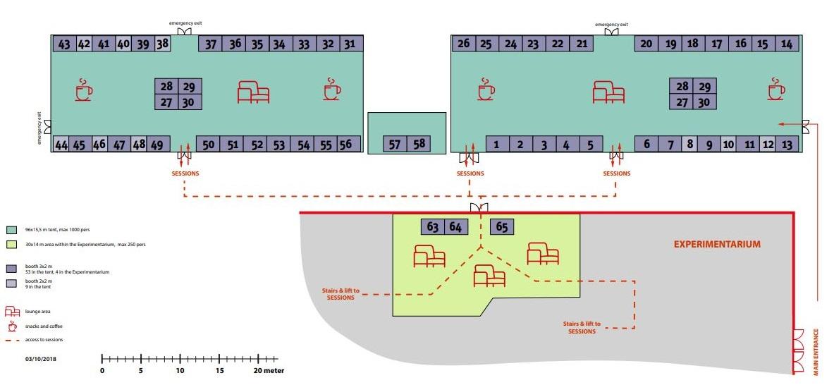 #Ecsite2019 Business Bistro floor plan