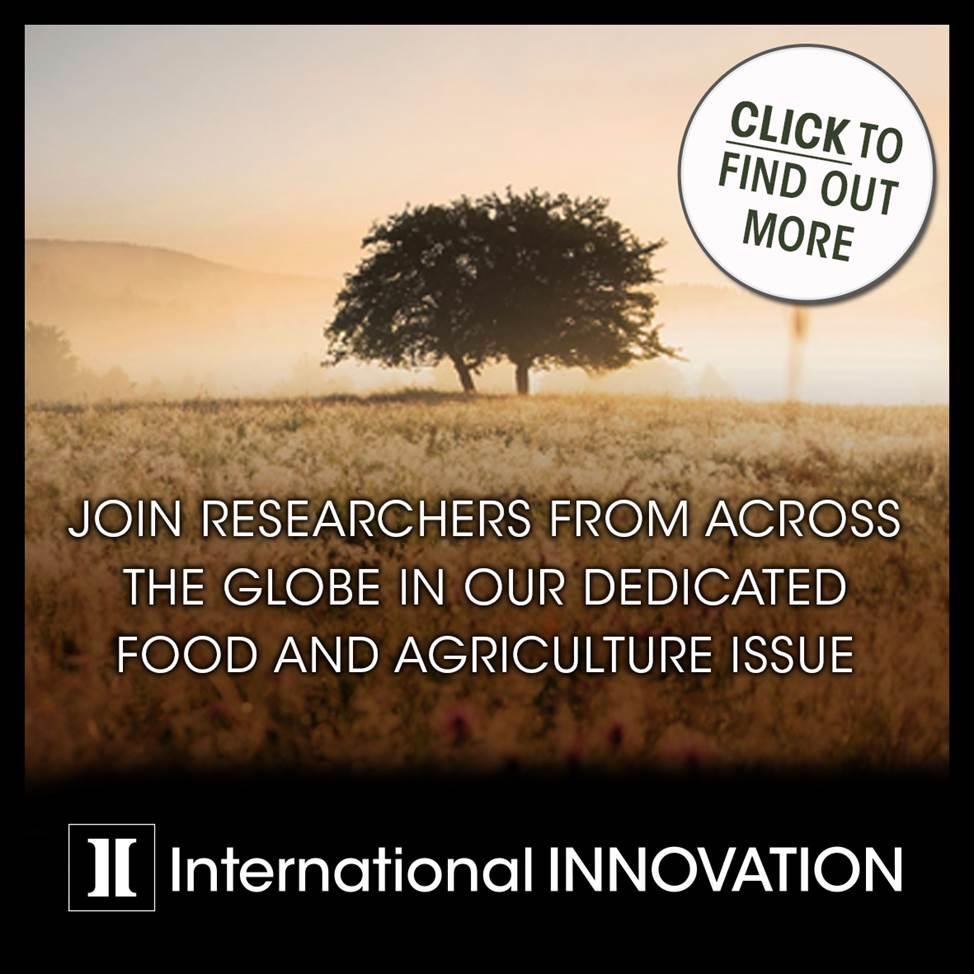 International Innovation Food and agriculture issue