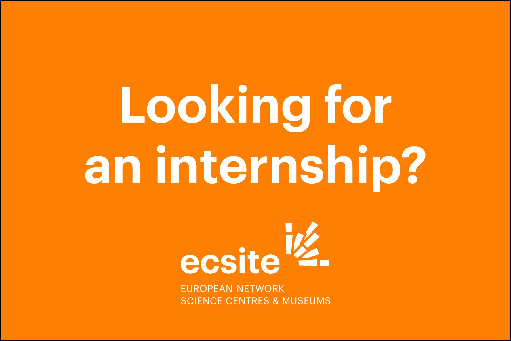 internship ecsite2017