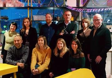Spokes Editorial Committee members, Warsaw, January 2019