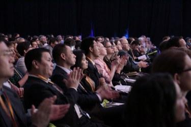 Attendees to the 2016 Ecsite Annual Conference, Graz, Austria. Photo: fini Agentur