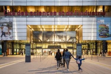 Image of La Cité des sciences et de l'industrie, Paris. Copyright R.P. Ribiere