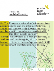 Ecsite Position on Biodiversity