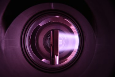 picture of plasma – the fourth state of matter, credit: EUROfusion