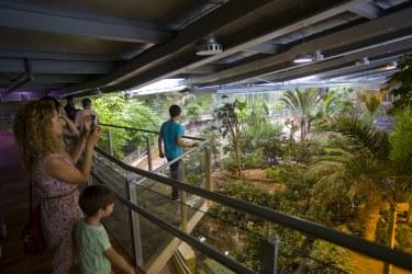 BioDomo at Parque de las Ciencias, Granada, Spain - #EcsiteDF2016 participants will be dining there