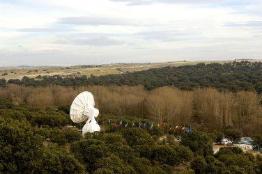 Aerial view of the European Space Astronomy Centre in Villafranca, Madrid, Spain. Copyright ESA - S. Corvaja