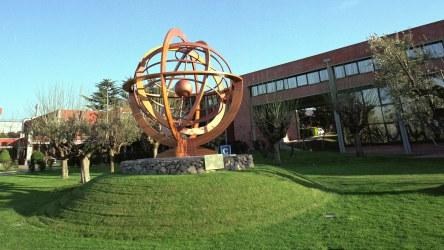 Armillary sphere in ESRIN. Copyright ESA-S. Corvaja