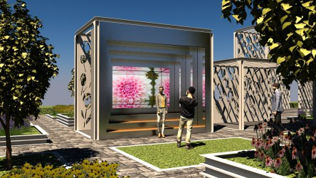 Kaleidoscopic Floriade 'pre-experience' at Beijing Expo 2019, NorthernLight Amsterdam
