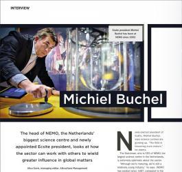 Attractions Management interview with Ecsite President Michiel Buchel