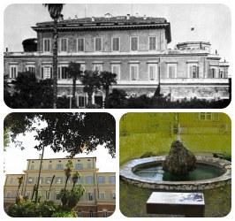 Enrico Fermi Center (in 1900: Institute of Physics, University of Rome)