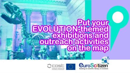 EuroScitizen call for evolution-themed activities