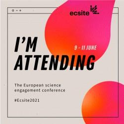 The #Ecsite2021 participants badge