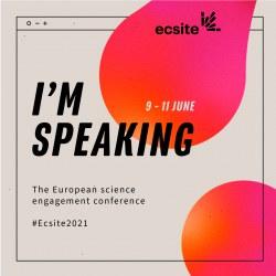 The #Ecsite2021 speakers badge