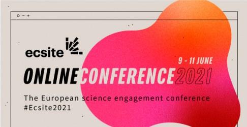 #Ecsite2021 conference logo