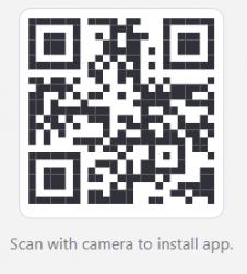 Ecsite app QR code
