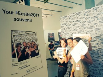 Ecsite Interns at annual conference 2017