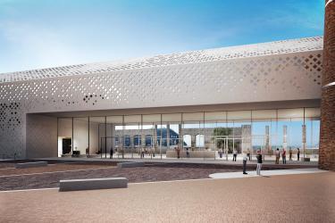 The new entrance to Città della Scienza, Naples - Architects A. Guazzieri and V. Ciotola
