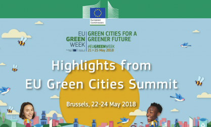 Green Cities - EU Green Week 2018. Image credits: European Commission.