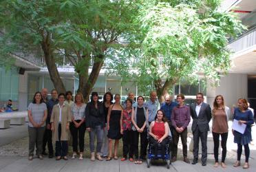 Kick off meeting of HEIRRI project, Barcelona, September 2016
