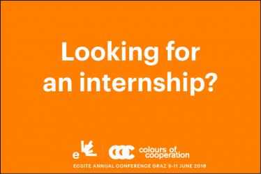 internship opportunity at Ecsite