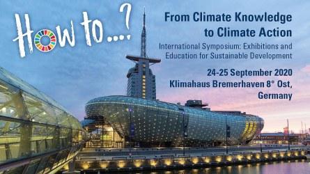 Klimahaus Bremerhaven symposium 2020 poster