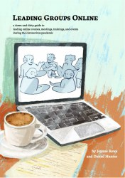 Leading Groups Online booklet. Credit: Jeanne Rewa and Daniel Hunter