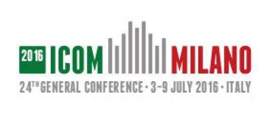 2016 ICOM conference logo Milan