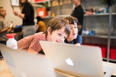 Learners at WAAG - Photo credit WAAG