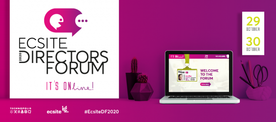 2020 Ecsite Directors Forum, 29-30 October - It's ONline