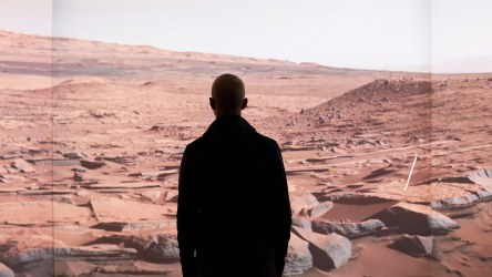 Moving to Mars exhibition - visitor experience by NorthernLight and Fabrique