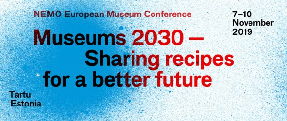 NEMO European Museum Conference 2019 Banner
