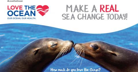 #LoveTheOcean - Make a Real Sea Change Today