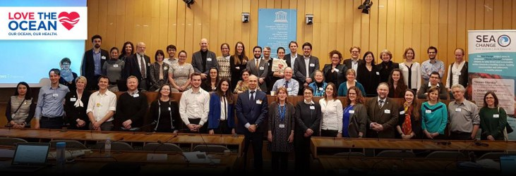 Participants at the Sea Change Final Conference, 15 February 2018, UNESCO, Paris (France)