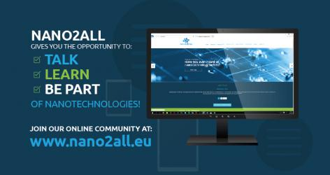 Join our online community at www.nano2all.eu