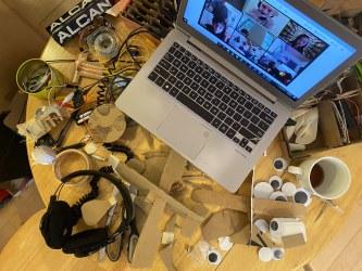 Tinkering Workroom 1-22 April. Photo credit: Wonderful Idea Co.