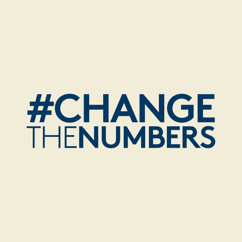 #ChangeTheNumbers campaign by L'Oreal Foundation