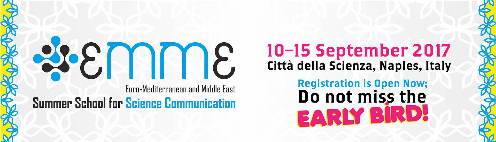2017 EMME edition, 10-15 September, Naples, Italy.