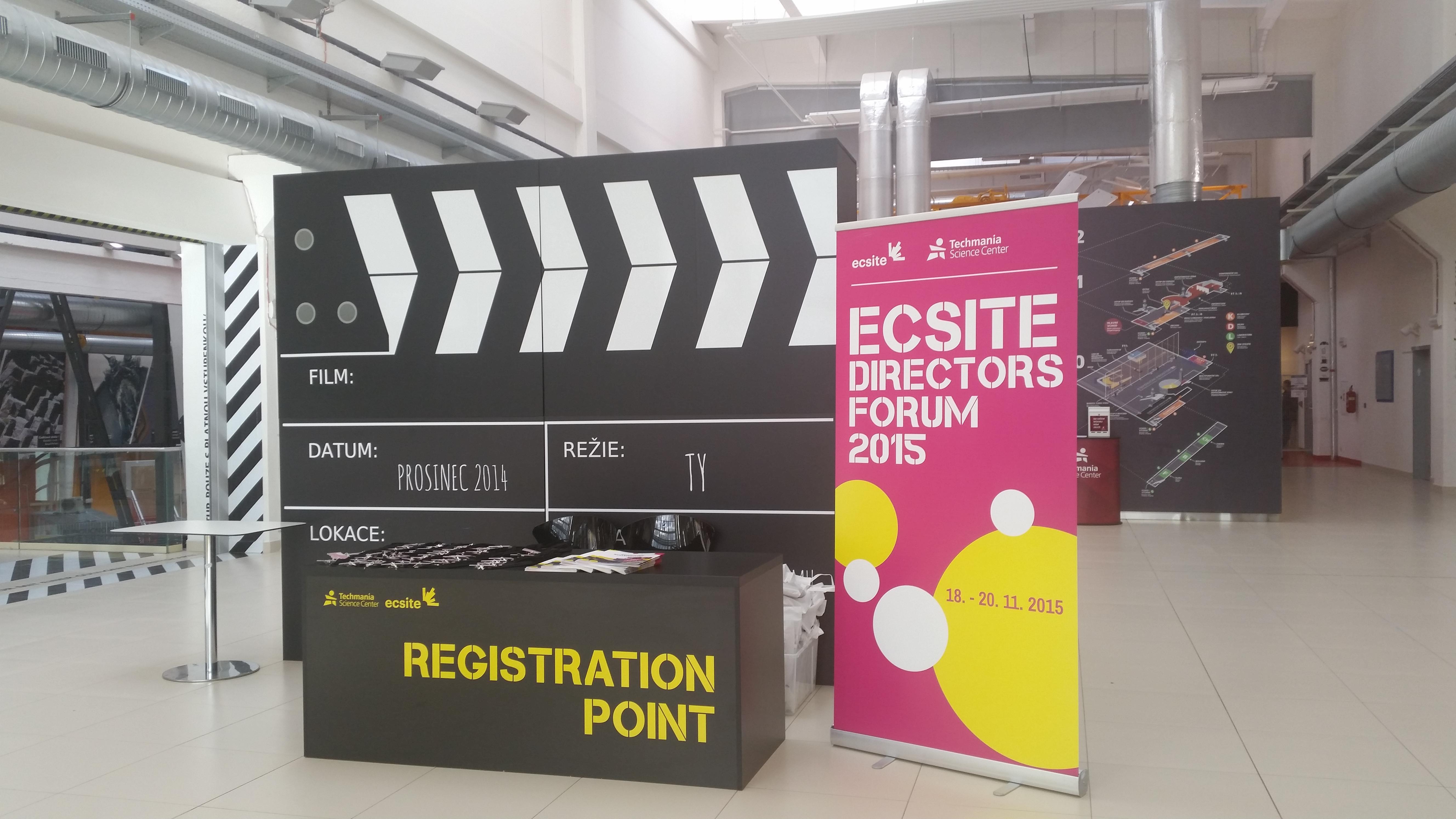 A warm welcome to #EcsiteDF2015 participants at Techmania, Pilsen, Czech Republic, 18-20 Nov 2015