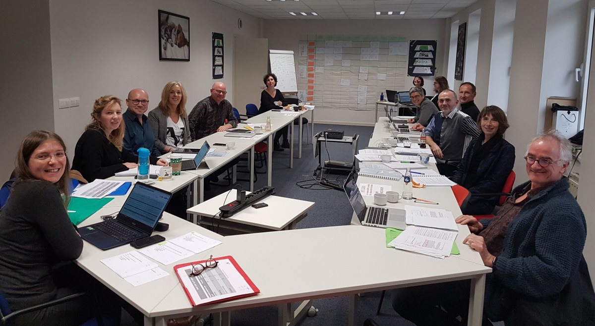 Annual Programme committee meeting in Brussels. December 2018