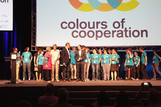 #Ecsite2016 team at the closing ceremony