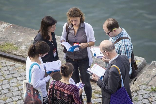 Participants at the 2017 Ecsite Annual Conference, Porto, Portugal, 15 June
