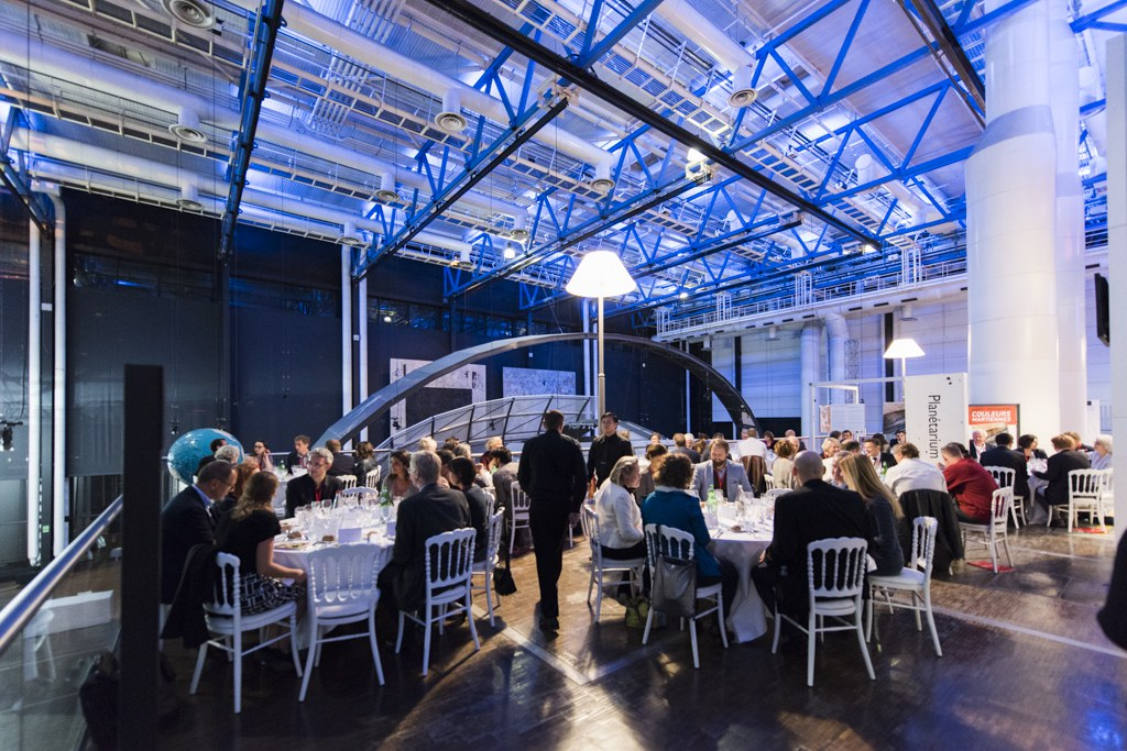 Dinner at Cite des sciences et de l'industrie, Ecsite Directors Forum, 4 October 2017. © V Viennet EPPDCSI
