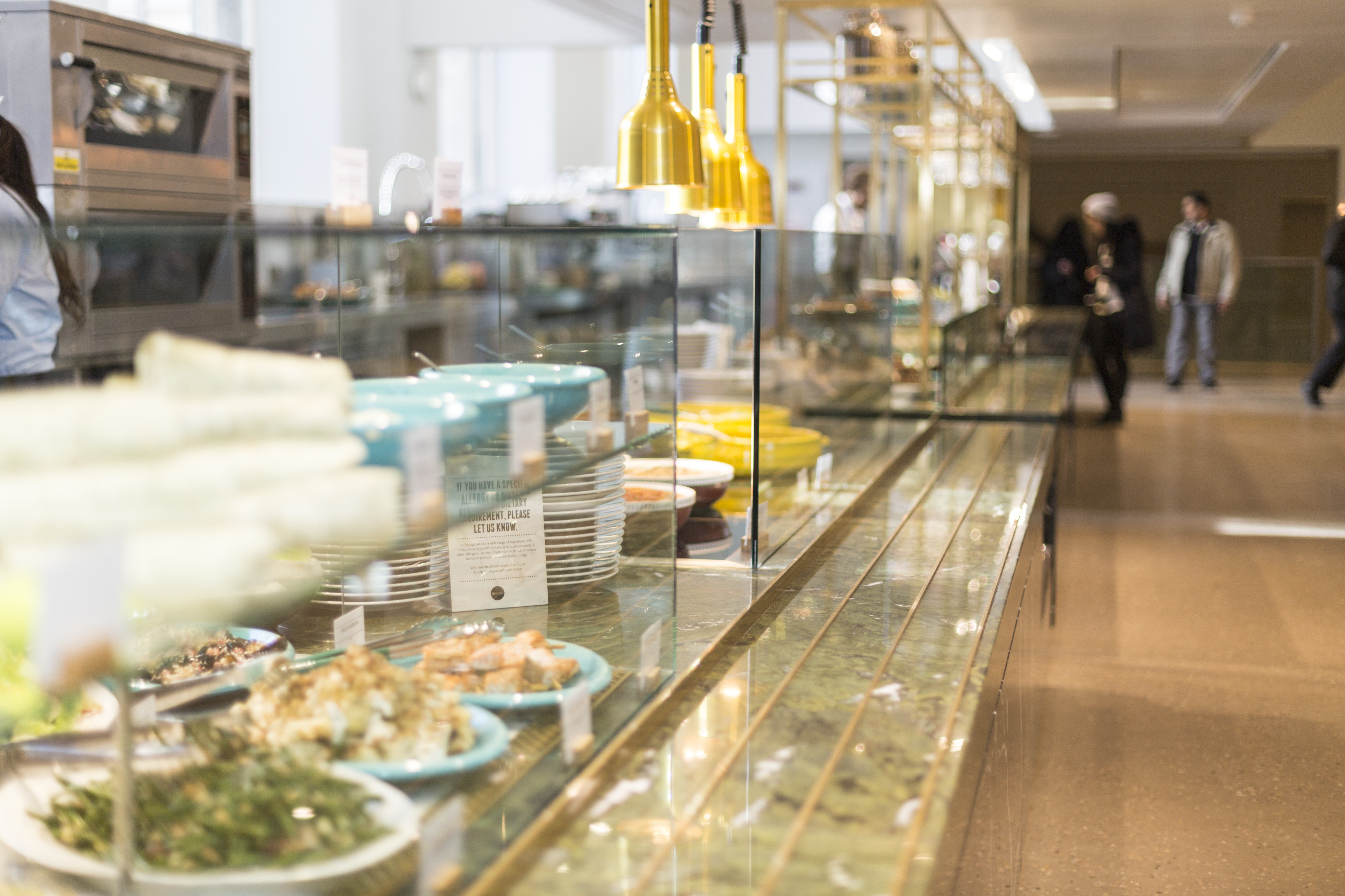 Food Counter At One Of The Natural History Museum's Caf�s © Natural  History Museum