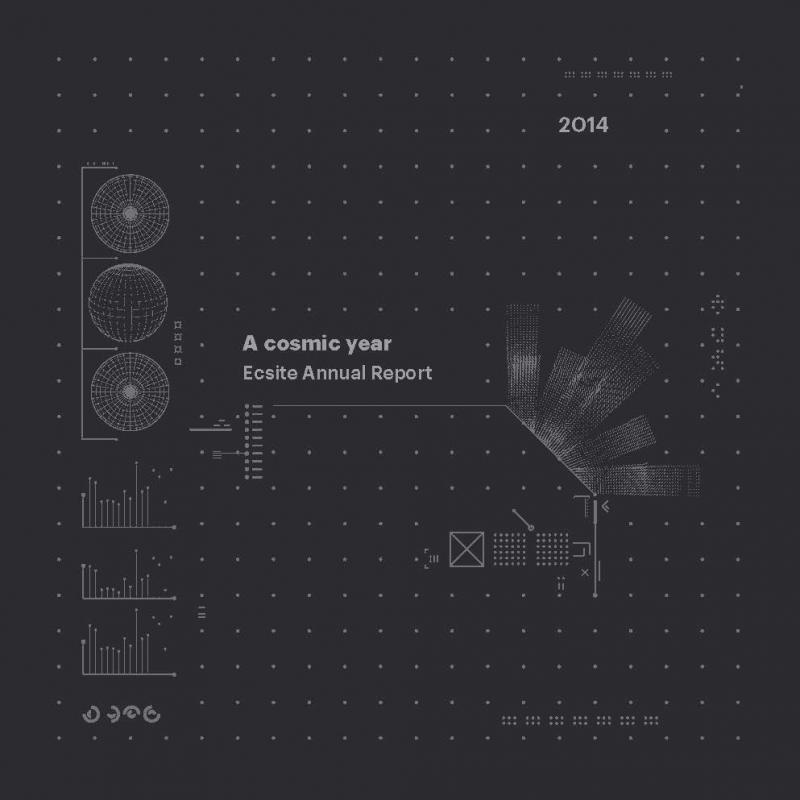 Ecsite Annual Report 2014 - Cover
