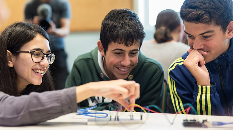 "Mariano Gago Ecsite Sustainable Success winning project, 2019: ""STEMpowering Youth, a STEM educational programme which brings together young students and educators from remote areas of Greece"