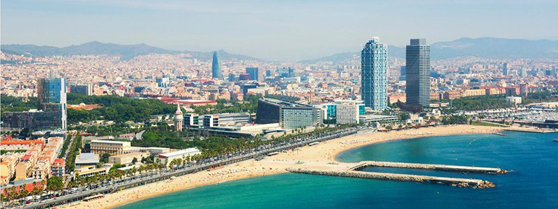 Barcelona, location of the 2018 Ecsite Directors Forum, 14-16 November 2018